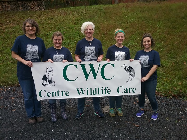 Nittany Settlement's first ever Day of Caring Event back on October 4th! We had a blast helping at Centre Wildlife Care. This nonprofit organization does so much to help the wildlife in our area and we were truly in awe of the passion and dedication that