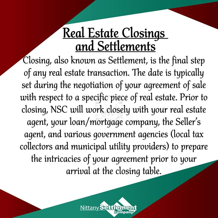 We love assisting buyers, sellers, their collective agents, and mortgage providers with real estate closings in Central Pennsylvania. Our founders, Attorney Tom Knepp and Attorney Ron Friedman started Nittany Settlement in 2002 after years of handling re