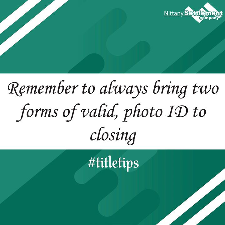 When you purchase real estate, there are a series of forms that must be notarized; thus your title agent/real estate attorney (who are also often notary publics) are required by law to review your valid photo ID (thus, it cannot be expired). Additionall
